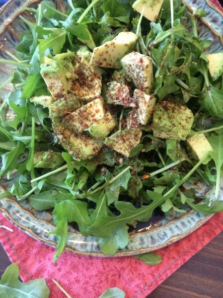 Arugula & Avocado Salad